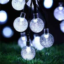 Shop <b>Solar</b> Light 6M <b>30 LED</b> String Lights Ball Crystal Festoon Light ...