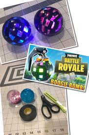 Boogie Bomb Led Light Fortnite Boogie Bombs From Dollar Tree Items 9th Birthday