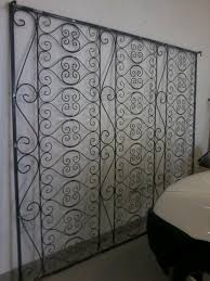 wrought iron garden trellis