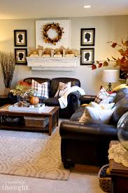 It was a quick and simple way to give my table in the living room a little piz. Burnt Orange And Gold Fall Decor A Wonderful Thought