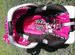 car seat roxy car seat covers luxury cover hot pink and zebra baby girl red