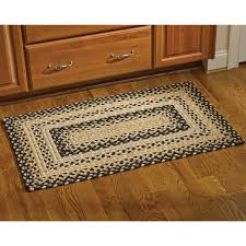 black gold and tan cornbread braided rug by park designs 32x42 picture 1 of 2