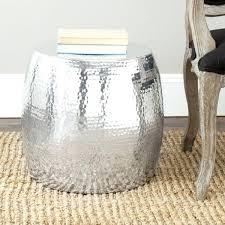 safavieh coffee table vanadium silver round table ping great deals on coffee safavieh wesley white black