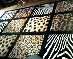animal print rug runners for stairs leopard area zebra large size of runner rugs home depot