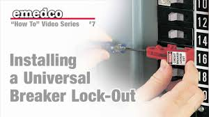 how to install a universal breaker lock out device emedco video fuse box location f150 how to install a universal breaker lock out device emedco video youtube