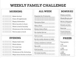 Chore List For Families Game Of Chores Use This Chore Chart To Actually Get Stuff