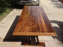 reclaimed oak furniture. Reclaimed Oak Dining Table Furniture