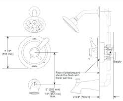 shower faucet installation wondrous ideas tub shower faucet installation how to raise and better quality 6