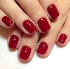 Red Design Nehtů Módní A Krásné Vzory