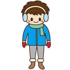 「無料イラスト 冬服」の画像検索結果