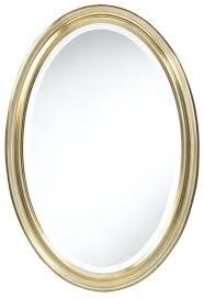 Bronze Mirror Bathroom Bathroom Golden Framed Oval Bathroom Mirror Ideas Oval Bathroom