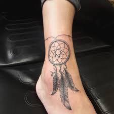 Cool стильное тату ловец снов значение для девушек оригинальные