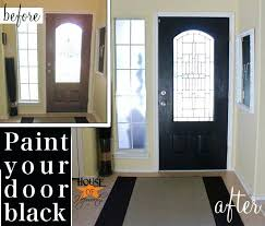 inside front door colors. Black Front Door Inside Colors Entry Knobs