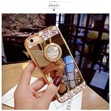 mirror iphone 7 plus case. iphone-7-plus-case-black-lemon-luxury-crystal- mirror iphone 7 plus case l
