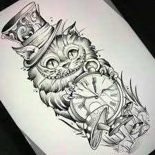 Pin by Ashley Ronan on Tatuajes   Wonderland tattoo, Alice and wonderland  tattoos, Tattoos