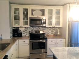 elegant glass inserts for kitchen cabinet doors frosted white shaker cabinets with glass inserts how to