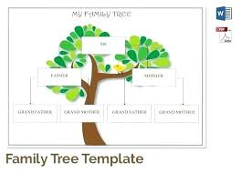 Family Tree Maker Templates Free Family Tree Maker Printable Co Charts Templates