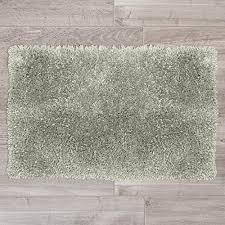 nestl bedding gy bath rug with non slip backing rubber super soft bathroom shower bath tub rug made of luxury microfiber machine washable