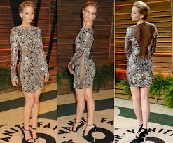 Stars shine at Vanity Fair Oscar Party Jennifer lawrence and.