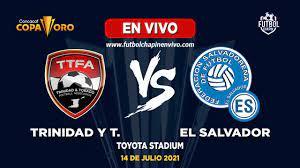 Trinidad Y Tobago Vs El Salvador ...