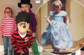 celebs kids celebrate world book day