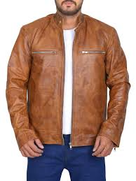 stylish leather jacket perfect fit jacket