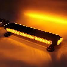 Traffic Advisor Strobe Light Bar Led Emergency Warning Traffic Advisor Vehicle Strobe Light