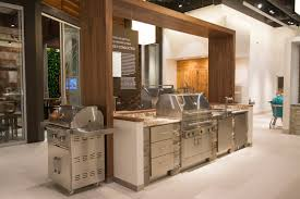 Kitchen Display Outdoor Kitchen Display At Pirch Atlanta Featuring Grills By