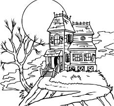 Coloriage Maison Hant E Dessin Imprimer Sur Coloriages Info