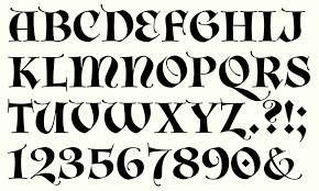 black letter font new blackletter font typophile