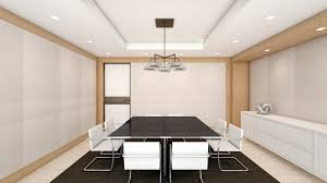 office conference room. Modern Light Open Space Office With Conference Room Stock Photo