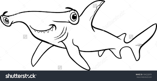 Small Picture Hammerhead Shark Coloring Page Hammerhead Shark Coloring Pages