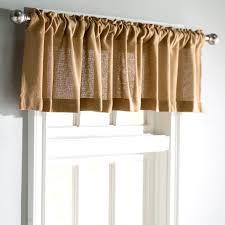 drapes with valance. Roxane Burlap Natural Curtain Valance \u0026 Reviews   Wayfair Drapes With I