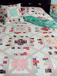 423 best crosses and losses images on Pinterest   Patchwork ... & This summer = your best bed quilt! Choose a beautiful bed quilt (like this  Connections quilt designed by Amy Ellis) to make little by little, block by  block ... Adamdwight.com