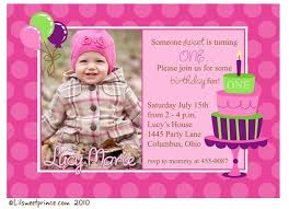free printable birthday party invitations for girls first birthday party invitation ideas first birthday party