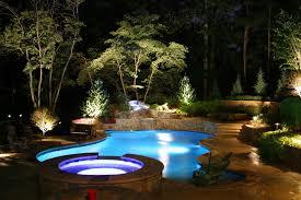 pool malibu landscape lighting