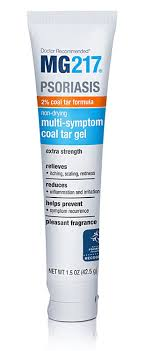 Amazon.com : MG217 Psoriasis Multi-Symptom 2% Coal Tar Gel, 1.5 ...