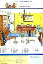 English Dining Room Furniture Impressive Decorating Design