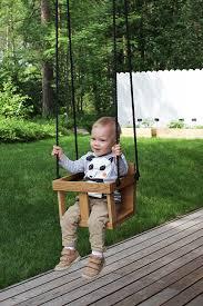 diy toddler wooden swing