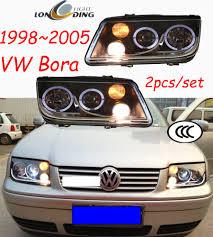 1998~2005 Volkswagen Bora headlight with Bi xenon projector ...