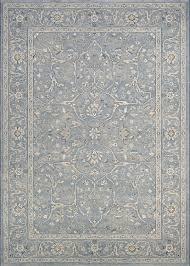 couristan sultan treasures fl yazd 7145 4646 slate blue area rug