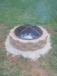 diy patio pavers outdoor diy fire pit