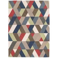 geometric rug pattern. Funk Chevron Multi Geometric Rug By Asiatic 2 Pattern