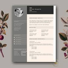 Modern Resume Templates Psd Free Cool Resume Templates Elegant Modern Cv Resume Templates Psd