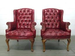 tufted leather wing chair chair design ideas tufted leather chair burdy incredible leather armchair with brown
