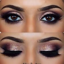 eye makeup for black dress elegant the 25 best