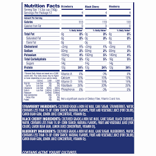 view specs view nutrition label