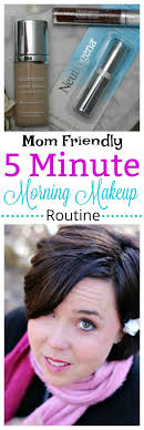 feel like you re too busy to look great think again with my easy mom friendly 5 minute morning makeup routine plus find out how you can save 2