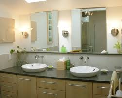 interior double sink bathroom mirrors elegant mirror ideas for home design in addition to 2