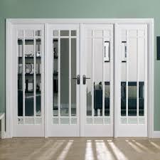 internal white primed manhattan room divider